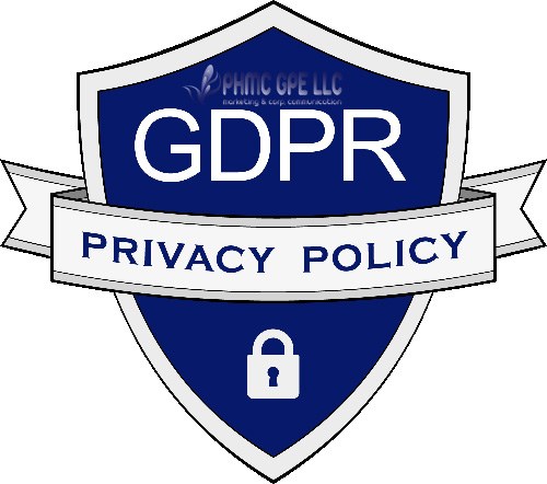 GDPR-FINAL-LOGO-500 Privacy Policy | ::: PHMC GPE LLC :::: Marketing & Corp. Communication Agency